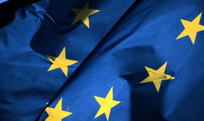 Imatge bandera Unió Europea