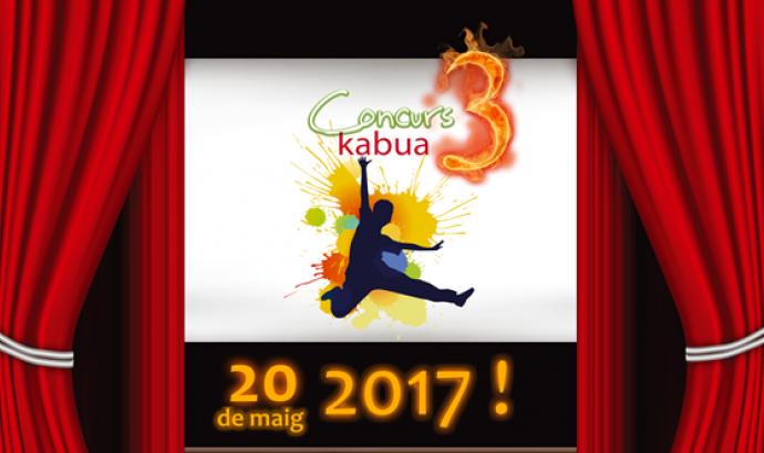 """Cartell del 3r Concurs Kabua """"Joves per canviar el món!"""" / Foto: Kabua Font:"""