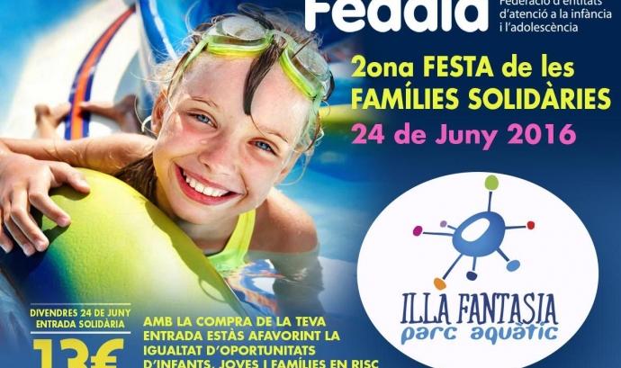 2a Festa Famílies Solidàries a Illa Fantasia