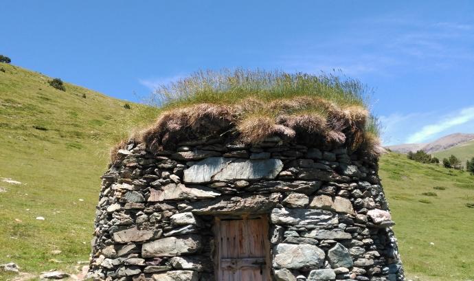 La barraca de pedra seca (imatge: flickr.com/diluvi) Font: