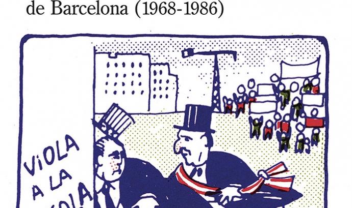 """Portada del llibre """"Barris, veïns, democràcia"""" de Marc Andreu."""