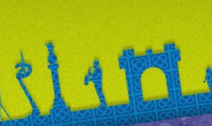 Detall del cartell de la trobada d'enguany