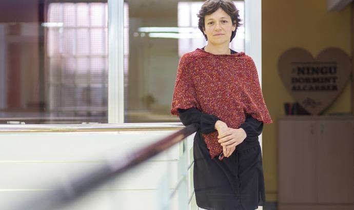 Beatriz Fernàndez, cap de l'equip jurídic de la Fundació Arrels.  Font: Fundació Arrels