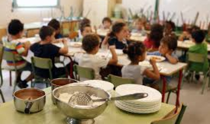 Menjador de col.legi. Font: elperiodico.cat Font: