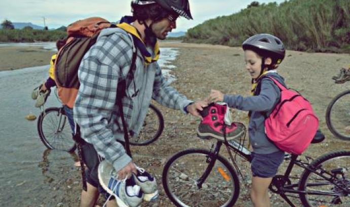 Excursió en bicicleta / Foto: AEiG Pinya de Rosa