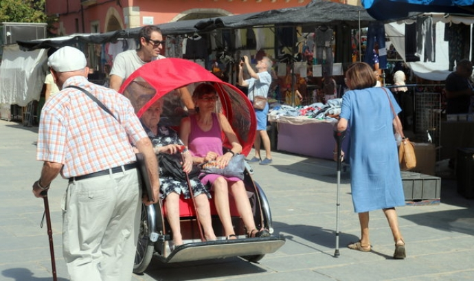 El projecte compta de moment només amb un tricicle. Font: Vic Aurora
