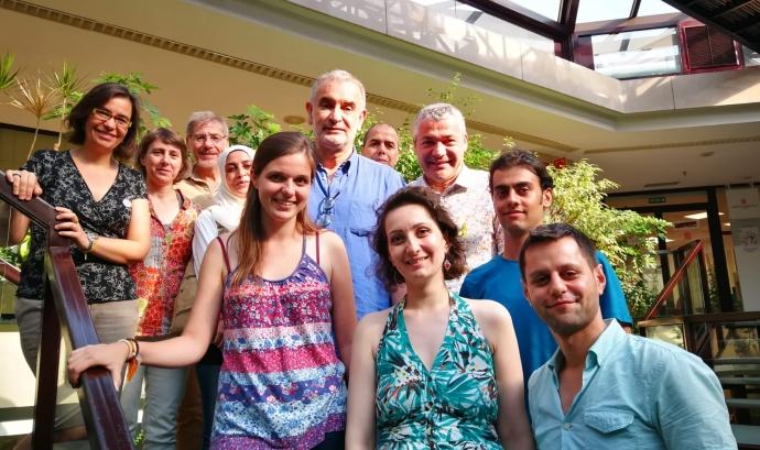 Arribada dels primers estudiants procedents del Líban
