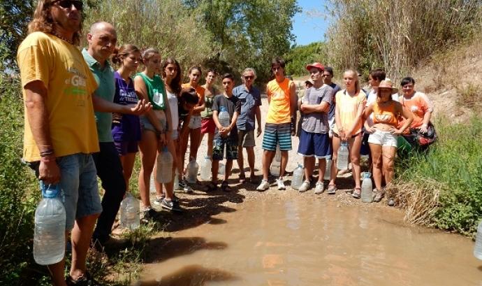 L'Associació Mediambiental La Sínia organitza un Big Jump al riu Gaià