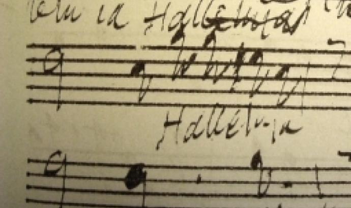 Fotografia d'una partitura. Imatge de Billy Reed. Llicència d'ús CC BY SA 2.0