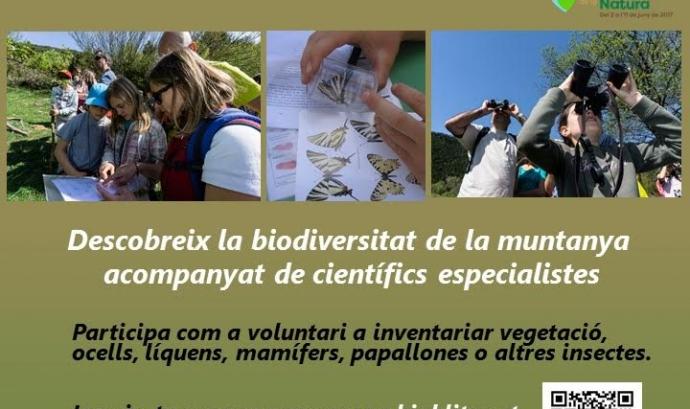 Bioblitz a la Muntanya de Montserrat per la Setmana Natura (Fundació Catalunya La Pedrera)