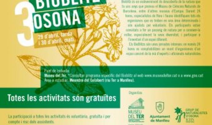 Bioblitz a Osona, organitzat per el Grup de Naturalistes d'Osona i el Museu del Ter   (imatge: museudelter)