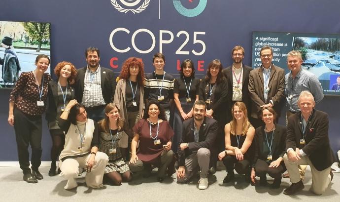 L'equip de BirdLife International participa a la COP25 Font: BirdLife