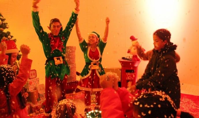 La Fira de Nadal compta amb una bola gegant on s'explicaran contes pels infants. Font: La Veu de Montcada