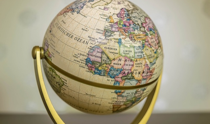 Bola del món. Font: Pixabay Font: