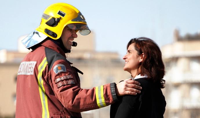 Els bombers t'acompanyen a donar sang Font: