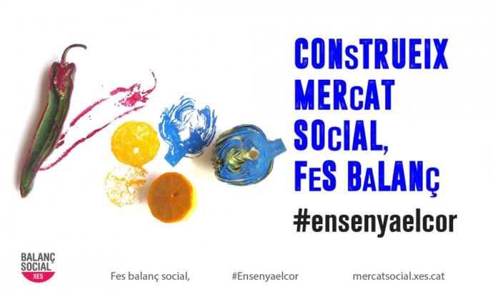 El balanç social es pot realitzar des del mes d'abril fins al 30 de juny. Font: Xarxa d'Economia Solidària