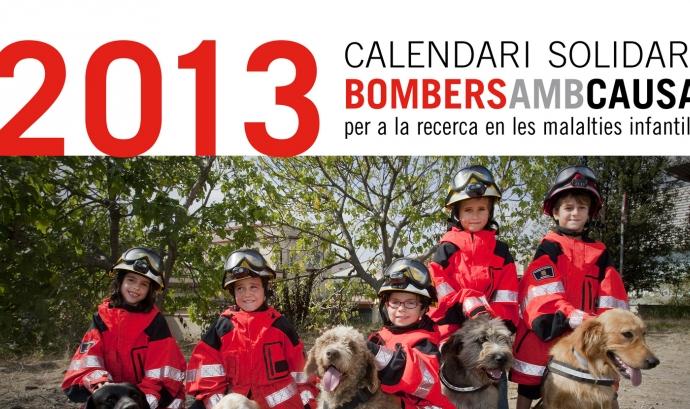 Els Bombers amb causa han editat un calendari Font:
