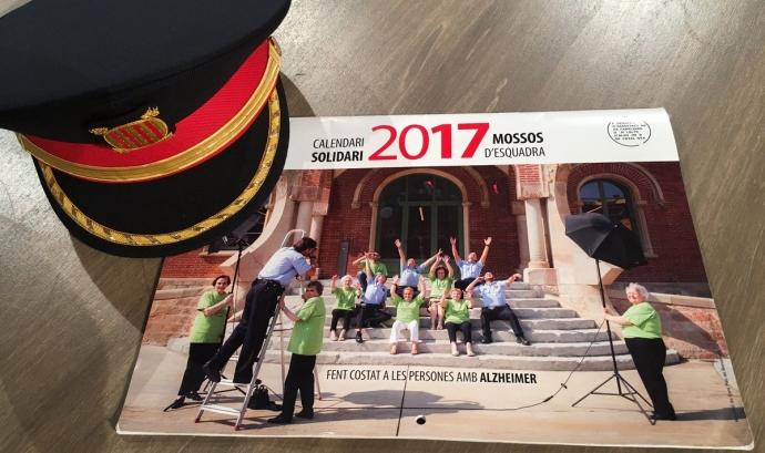Calendari solidari 2017. Font: FAFAC Font: