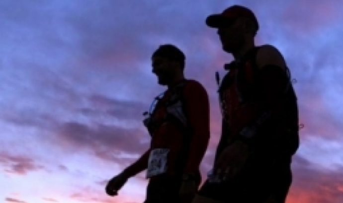 L'objectiu de la caminada nocturna és recaptar fons per l'Oxfam Intermón Trailwalker. Font: Sant Ramon de nit.