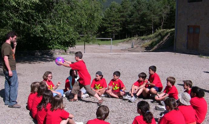 Campament estiu. Font: Fundació Pere Tarrés (flickr)