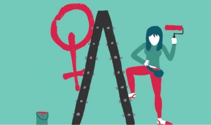 """Campanya """"El sexisme ni en pintura: Desterrant desigualtats"""" Font:"""