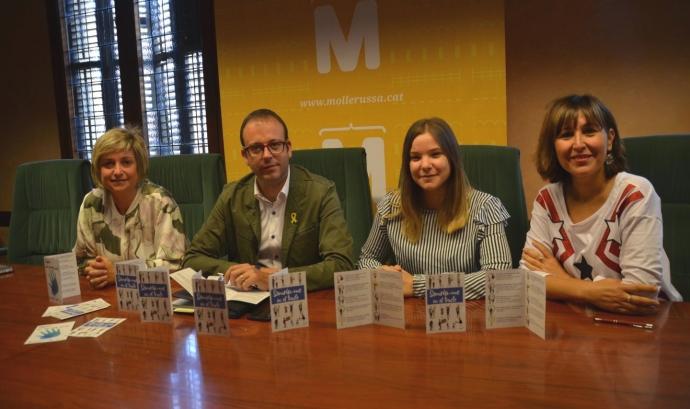 La campanya forma part del projecte 'No et quedis a casa' Font: Ajuntament de Mollerusa