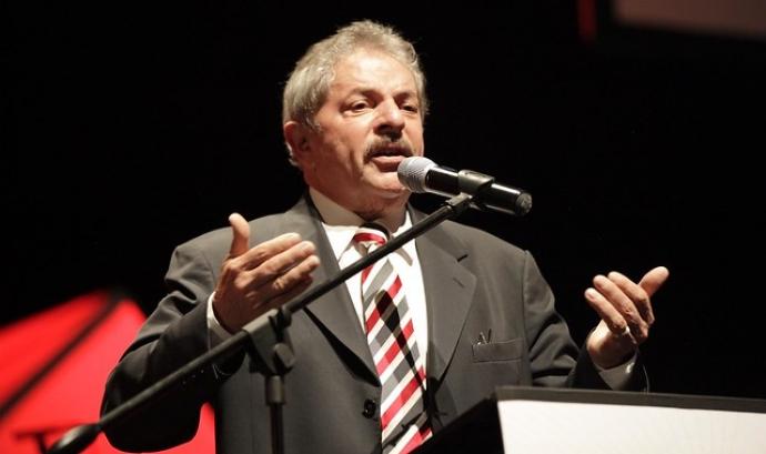 En el moment del seu empresonament Lula da Silva ocupava el primer lloc a les enquestes de les eleccions presidencials. Font: Cancillería Ecuador