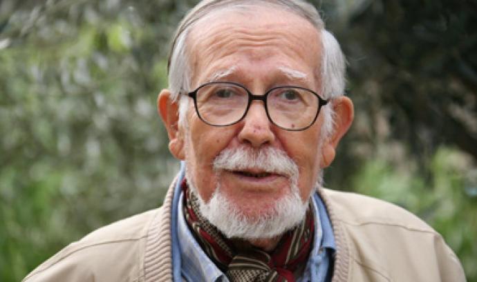 L'escriptor Paco Candal  Font:
