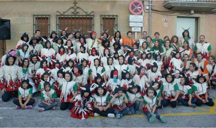 Grup dels diables de Castellterçol Font: