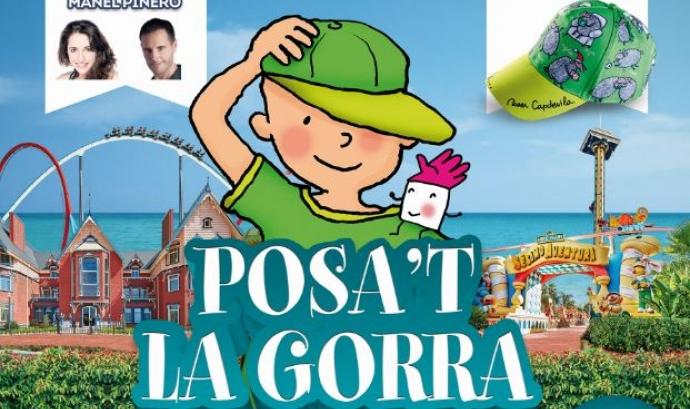 Cartell de la 14ª edició del 'Posa't la gorra' (Font: posatlagorra.org) Font: