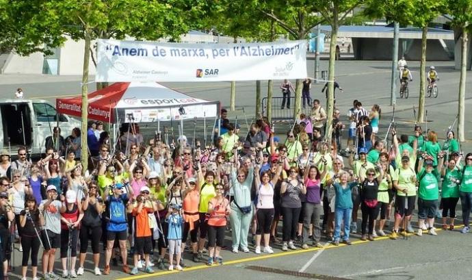 Foto de grup de participants en l'edició de 2013 Font: