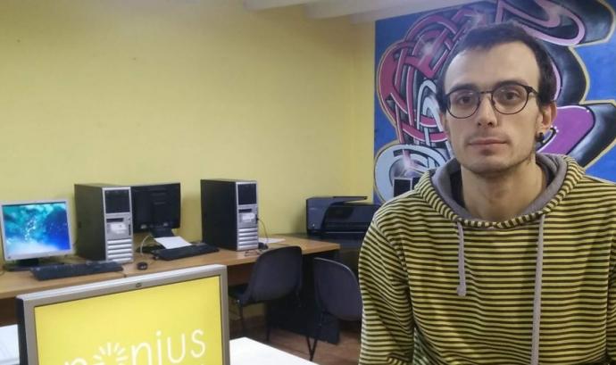 Fèlix Casanellas: «Per damunt de tot, la tecnologia ha de resoldre els problemes de la gent.» Font: