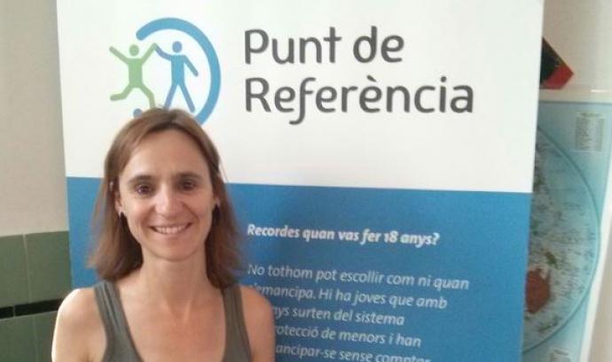 La directora de Punt de Referència Marta Bàrbara.