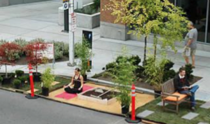 Park(ing) Day  Font: