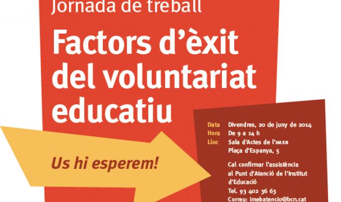 Arriba la Jornada de Voluntariat Educatiu