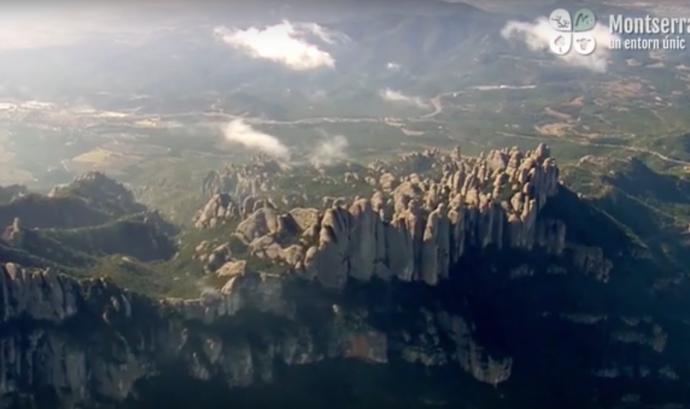 El projecte LIFE Montserrat es localitza a l'àrea de la Muntanya de Montserrat i el seu entorn Font: