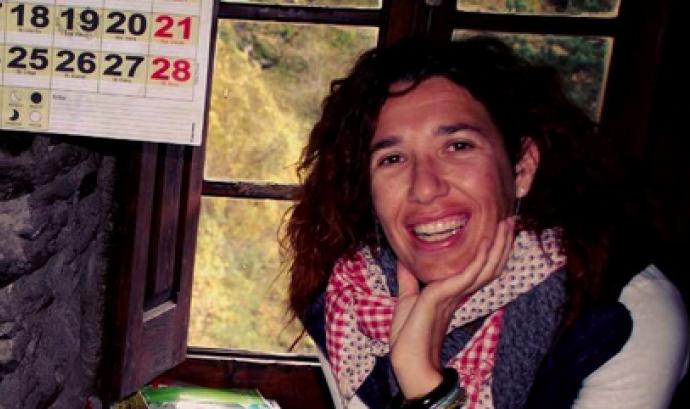 La Marta, presidenta de l'entitat Font: