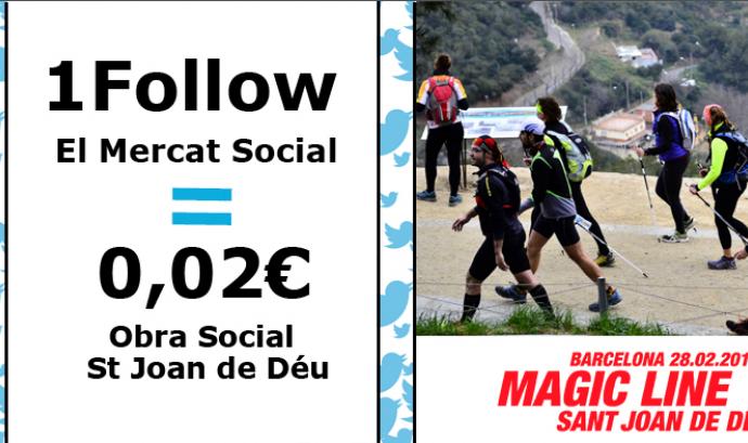 Fes un follow solidari per la Barcelona Magic Line
