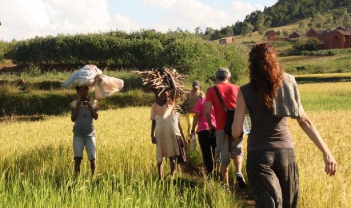 Yamuna t'apropa la realitat de l'illa de Madagascar Font: