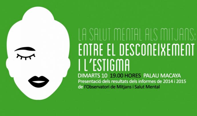 'La salut mental als mitjans: entre el desconeixement i l'estigma'