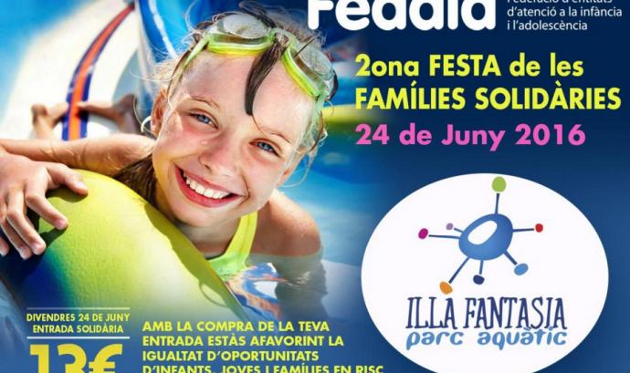2a Festa de les famílies solidàries a Illa Fantasia Font: