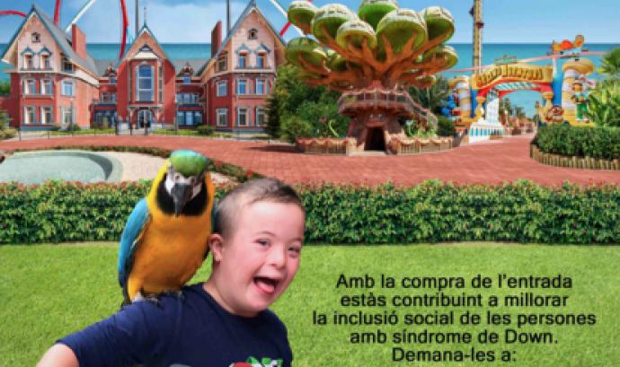 """""""Fent Amics amb Down Catalunya"""" arriba a PortAventura per 8è any consecutiu Font:"""