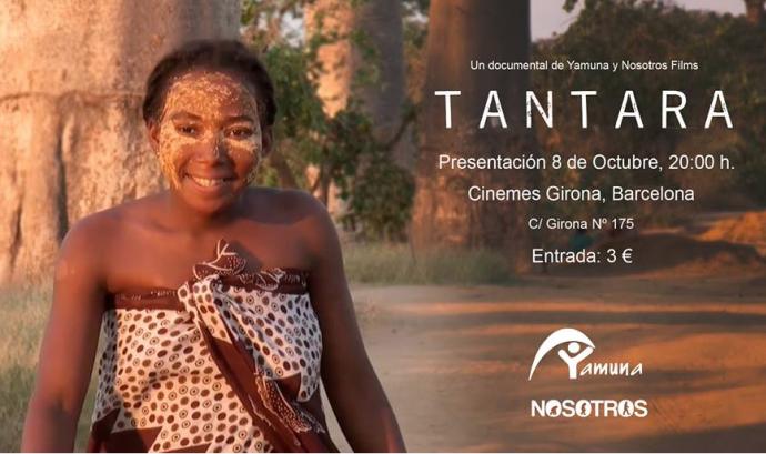 """Yamuna estrena el documental """"Tantara"""""""