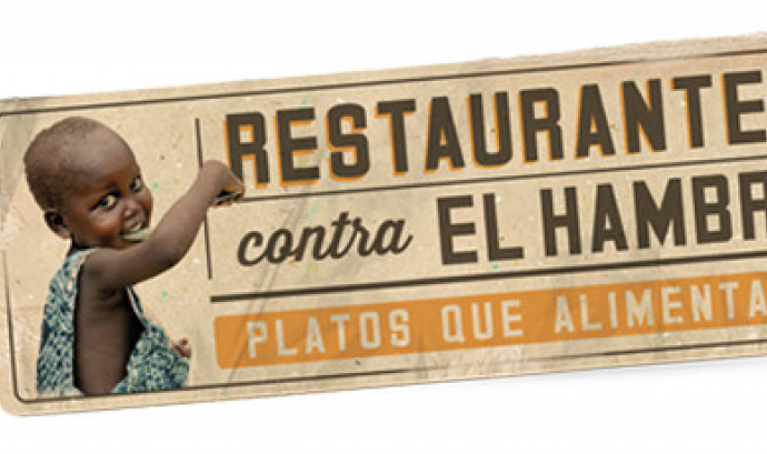 """Més de 1.100 restaurants combaten la desnutrició amb la campanya """"Restaurants contra la Fam"""". Font:"""