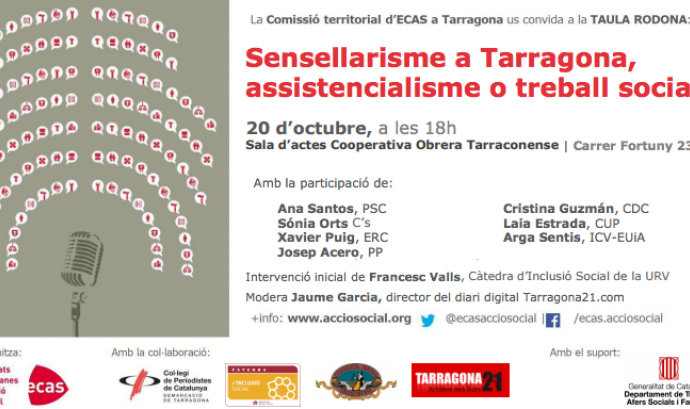 'Sensellarisme a Tarragona, assistencialisme o treball social?'