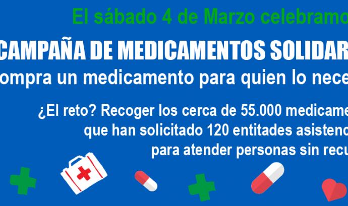 El Banc Farmacèutic impulsa la 10a Campanya de Medicaments Solidaris Font: