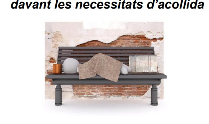 """Jornada """"Sensellarisme: una nova mirada davant les necessitats d'acollida"""""""