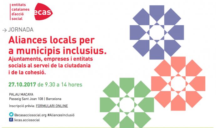 "Jornada sobre ""Aliances locals per a municipis inclusius"""
