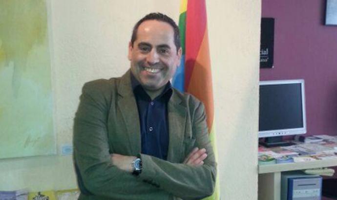 Joaquim Roqueta, president de la Plataforma LGTBI i Gais Positius  Font: Plataforma LGTBI