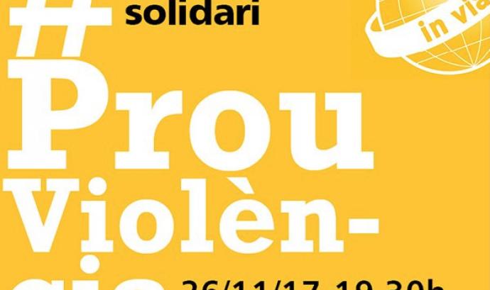 """L'Associació """"In Via"""" organitza el concert #ProuViolència"""
